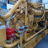 CHP - Combined Heat-and Power Plant Emergency Aggregate Power Plant Power Generator