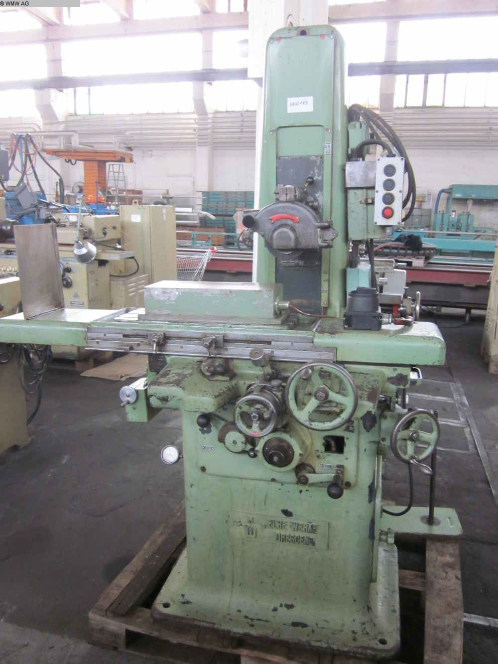 Surface Grinding Machine Elbe Werke Nicht Bekannt Unknown