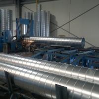 Spiral Duct Manufacturing Machine
