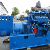 CHP - Combined Heat and Power Plant - Emergency Aggregate - Power Generator - Power Plant