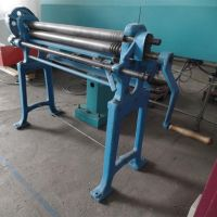 Plate Bending Machine - 3 Rolls WMW