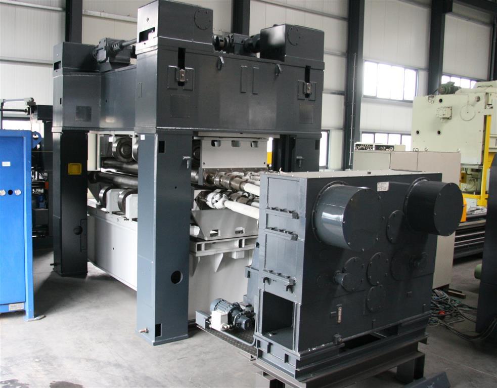Sheet straightening machine   WMW GOTHA UBR 16x2500 /1-10