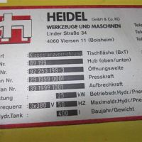 Punching and shearing system HEIDEL MB W 140 OP 4