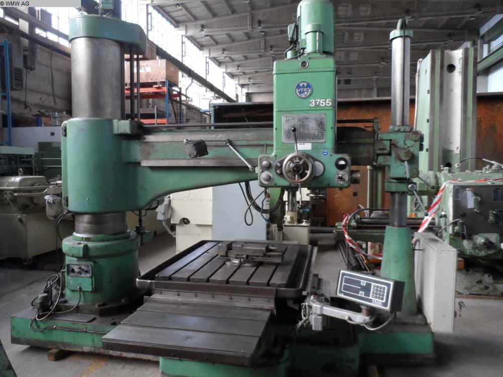 Radial Drilling Machine Webo Br 50 63 H 2000