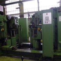 Wheel Lathe Hegenscheid MFD U 2000-150