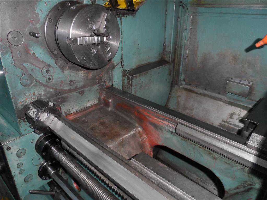 Leit- und Zugspindeldrehmaschine | TOS TRENCIN SUI 50/1000
