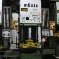 Single Column Press - Hydraulic MÜLLER CAZ 200