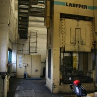 2 Column Press - hydr. - Dualform LAUFFER & BUTSCHER RXZ 300