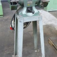 Double sided stand grinder WMW Galvanotechnik DS 200/1