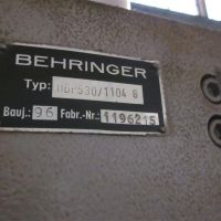 Sawing- and Drilling Plant VERNET BEHRINGER HBP 530/1104G-NC1-BM