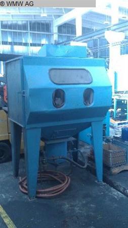 Sandblasting Machine Universal Equipment Mfg Blast Cabinets
