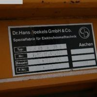 Metal Detector - only Search coil - Spare Part BOECKELS GMBH EQ a 65x35 F-Nr. 10265