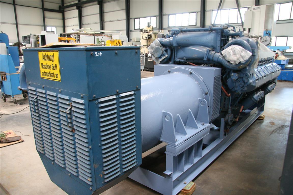 Generator CHP | MTU Friedrichshafen MTU 16396