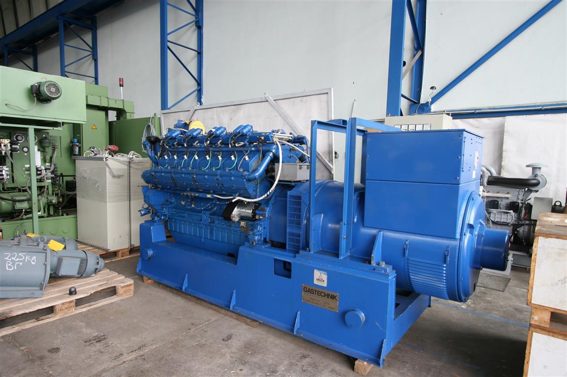 Generator | DEUTZ MWM Generator type GAS