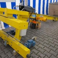 Wall slewing crane MECHANIK TAUCHA KWK 125-3,5