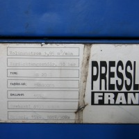 Screw Compressor PRESSLUFT FRANTZ ES 20