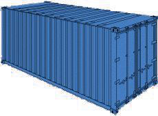 20 FT Box Container