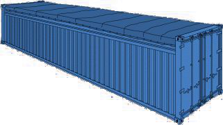 40 FT OT Container