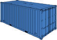 20 FT Hard Top Container